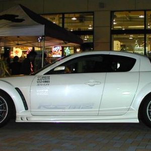 RE Amemiya Rx-8 at Meet