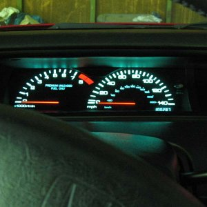 95 Prelude VTEC Digital Speedometer and Odometer