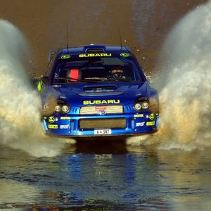 Subaru WRC in Action