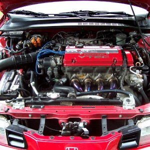 New Engine Bay