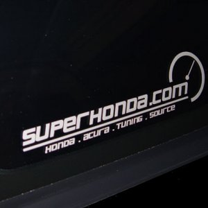 SuperHonda.com Sticker