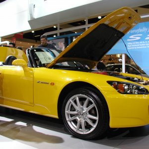 New Honda S2000 Side View