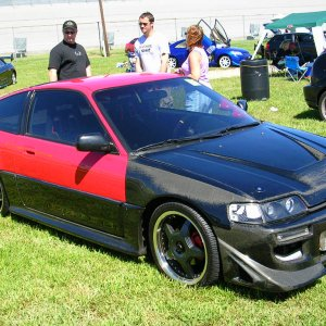 crx w/ carbon fiber front end