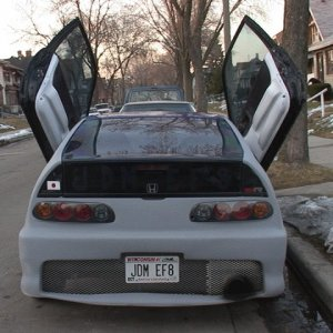 rhd crx supra tail lights