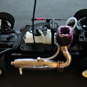 HPI R40 - RD Logics Turbo II Pipe