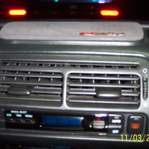 center speaker & climate control