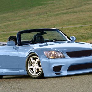 Honda S2000 with is300 front