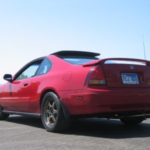 4th Gen Prelude VTEC With Volk TE37 Wheels and Yokohama A048 Tires