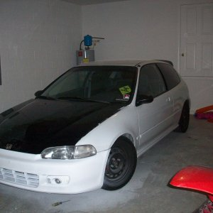 My 94' Honda Civic Hatchback Vtech!
