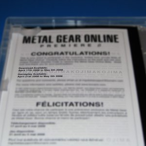 Picked up the MGO preorder bonus today!