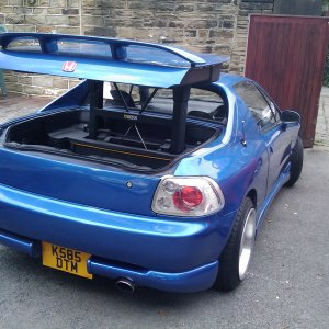 Honda Crx Del Sol Sir Rear