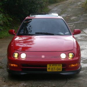 My GSR front view
