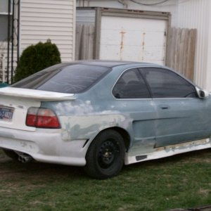 Accord Wide body kit rear bumper