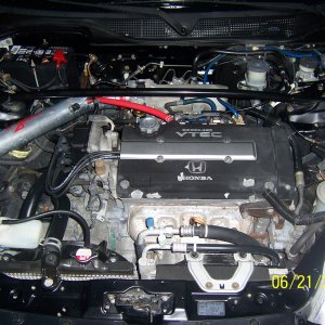 00 civic SI - engine bay