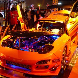 Hot Import Nights - RX7