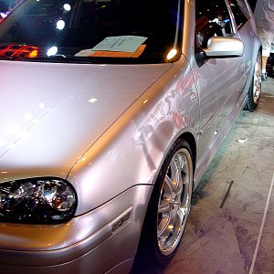 Hot Import Nights - Silver VW GTI