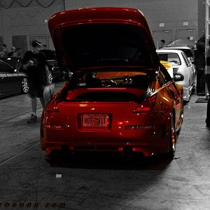 Hot Import Nights - Orange 350Z Aero Kit