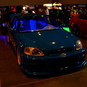 Hot Import Nights - Blue Civic