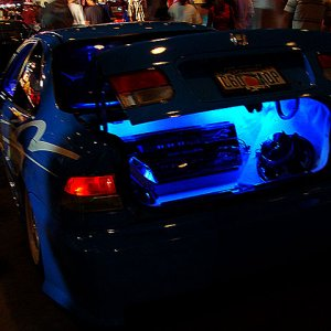 Hot Import Nights - Blue Civic System