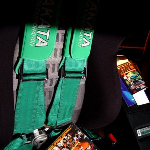 Hot Import Nights - Takata Belts & Bride Seat